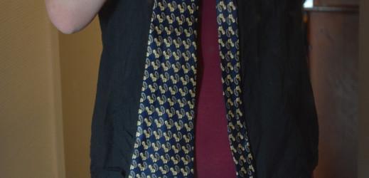 Rencontre d'une cravate et d'une vieille chemise